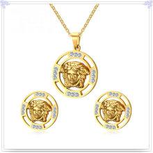 Bijoux en acier inoxydable Ensemble de bijoux pour accessoires de mode (JS0261)