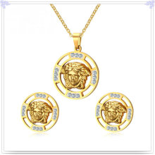 Stainless Steel Jewelry Fashion Accessories Jewelry Set (JS0261)