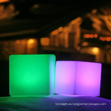 club nocturno color 3d cubo llevado