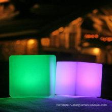 ночной клуб 3D цветной светодиодный куб