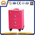 Travel Flight Trolley Beauty Case con cajones