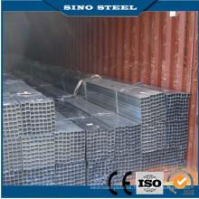 Tubo de acero cuadrado galvanizado SS400 Q235