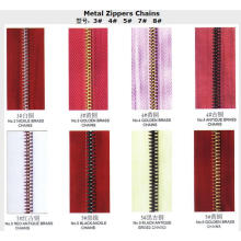 Cadenas de Metal Zippers