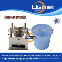 Injeção de bala de plástico fábrica de moldes de água doméstica moldagem de molde de balde 10 litros de molde de balde de água