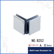 Made in China 90 degree glass to glass clamp for shower room