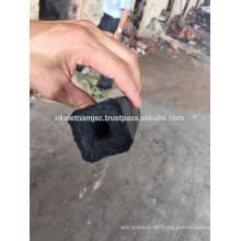 Carbón vegetal de la briquita del aserrín de la forma hexagonal para la barbacoa / surtidor directo del carbón de leña de la briqueta del aserrín