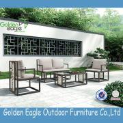 Patio furniture rattan balcony antique sofa set