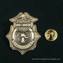 Insignias de mariscal de encargo, insignia de estrella del sheriff de metal de alta calidad
