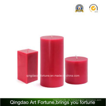 Handgefertigte Duft-Aroma-Säulen-Kerze für den Hausgebrauch