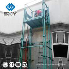 Henan Yuntian hydraulic guide rail car/material lifting platform