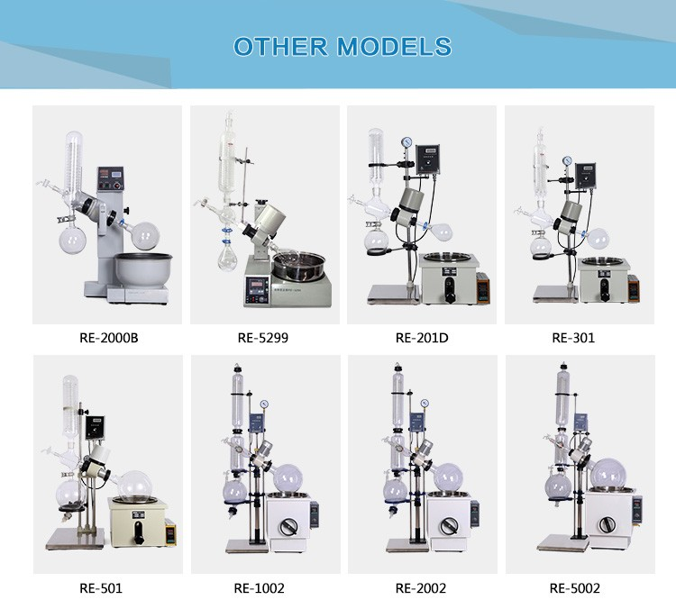 lab auto-lift vacuum distillation unit rotary evaporator