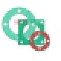 Hoja de juntas sin amianto (G-NCAF 532, 533, 534)