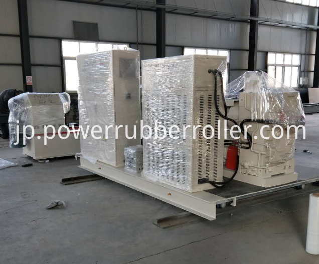 Steel Rubber Roller Rewinder Rubber Machine