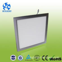 ultrathin fire rated Square slim LED panel recessed surface mounted