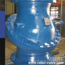 A216 Wcb Pn16 / Pn40 / 64 Válvula de retención de la oblea de disco basculante