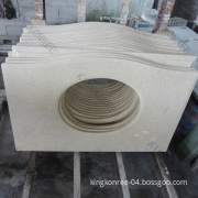Artificial Marble Quartz Stone Bathroom Vanity Top