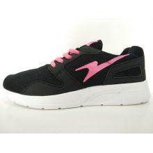 Frauen Schwarz Mesh Breathable Casual Schuhe