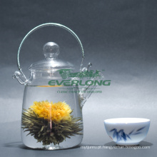 100% artesanal flor artística chá de florescência (BT006)