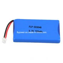 Lithium Polymer Battery Pack 3.7V 720mAh (1S1P of FLP-503048)
