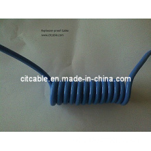 High Temperature Coil Cable