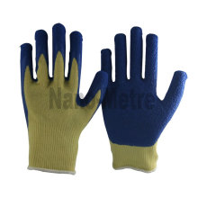 NMSAFETY Aramid fibers liner latex coated gloves
