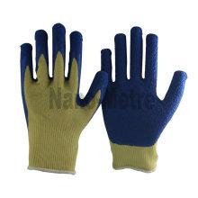 NMSAFETY Арамидного волокна лайнера латексным покрытием перчатки