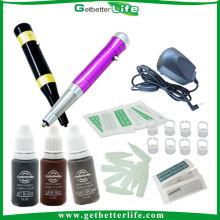 Kit de máquina de tatuagem completo Kit de duas canetas de maquiagem de qualidade