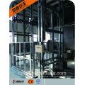 2 t capacity 4 post vertical hydraulic lead rail lift/ elevator