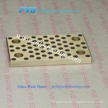 JIT Standard Gleitlager Verschleißplatte, oilless schwere Maschinen Graphit Bronze Platte, Öles Bronze Grapphite Gleitplatte