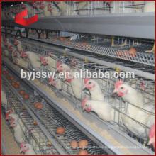 Jaula de la batería del pollo de la capa de la jaula del transporte de las aves de corral