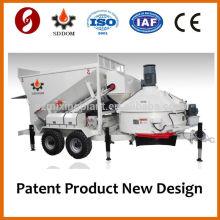 Мобильный бетонный завод MB1800 для продажи 20-25м3 / ч Taian Shandong China