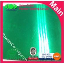 Transparente Pintura em pó verde claro