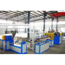 Línea de producción de manguera reforzada con fibra de PVC blando