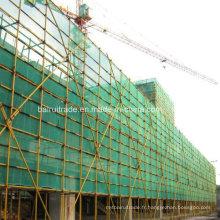 Échafaudage HDPE Net pour l'exportation