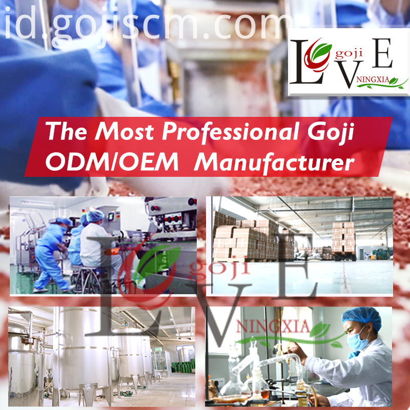 Natural Goji Concentrated Juice manufacturer