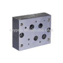 Colector de válvula hidráulica de 25 mm