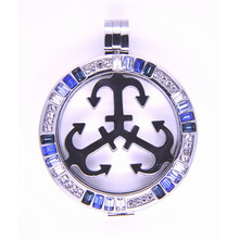 New Arrival High Quality Floating Locket with Interchangeable Plate