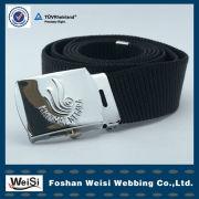 Metal Belt Buckle Belt Accessories With Embossed Pattern Logo