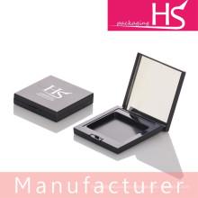 Caja compacta de polvo cuadrado diseñado simple