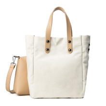Stylish Canvas Bag Reusable 2 sets Shopping Bag