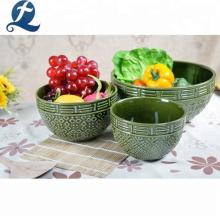 Benutzerdefinierte billige Esstisch Keramik Abendessen nach Hause setzt Geschirr