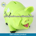 2015 new style cute animal pig money bank