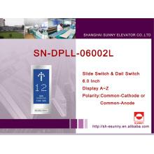 Painel de exposição do assoalho do elevador (SN-DPLL-06002L)