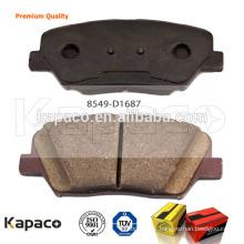 Kapaco Premium Brake pad /Best brake pad 8549-D1687 for Hyundai Santa Fe 2013
