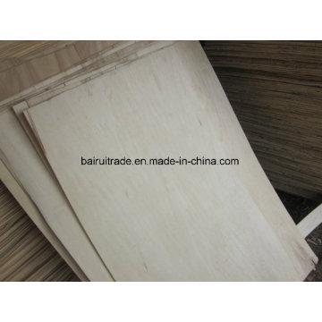 Impiallacciatura di betulla taglio rotativo Core per mobilia