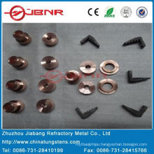Tungsten Copper Contact W70cu30 with ISO9001 From Zhuzhou Jiabang