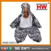 Adorable bodysuit jumpsuit Romper hoodies zebra costume kids
