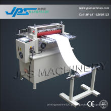 Papel traseiro, papel térmico e máquina de corte de papel autocolante