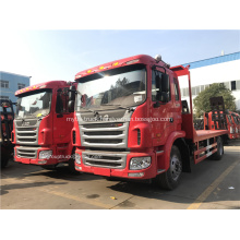 JAC flatbed truck with solid bed