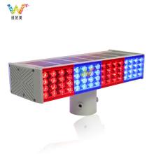 Verkehrssicherheits-Ampel LED Solar-Blinklicht
